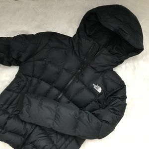 Black North Face 600 Fill Down Jacket Small